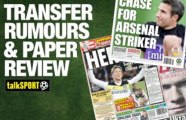 Transfer rumours and paper review with John Cross – Wednesday, August 7