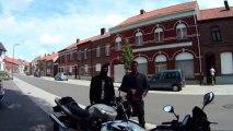 Balade à moto dans les monts des Flandres - 28/07/2013