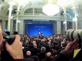 Nicolas Sarkozy en visite à Lille