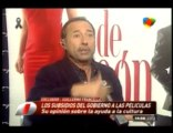 Guillermo Francella vs. Lanata sobre los subsidios