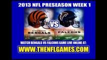 WATCH CINCINNATI BENGALS VS ATLANTA FALCONS LIVE NFL FOOTBALL STREAMING