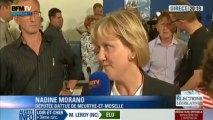 Réaction de Nadine Morano - Législatives 2012