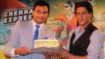 Shahrukh Khan Promotes Chennai Express In Association With Western Union !
