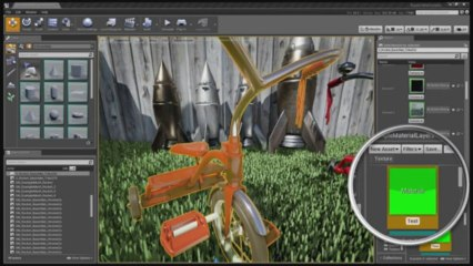 Unreal Engine 4 - Layered Materials Demo de
