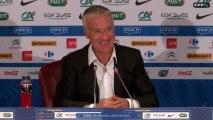 Replay : Conférence de Didier Deschamps avant Belgique France