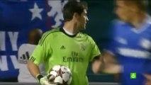 Así fue el partido de Casillas frente al Chelsea de Mourinho