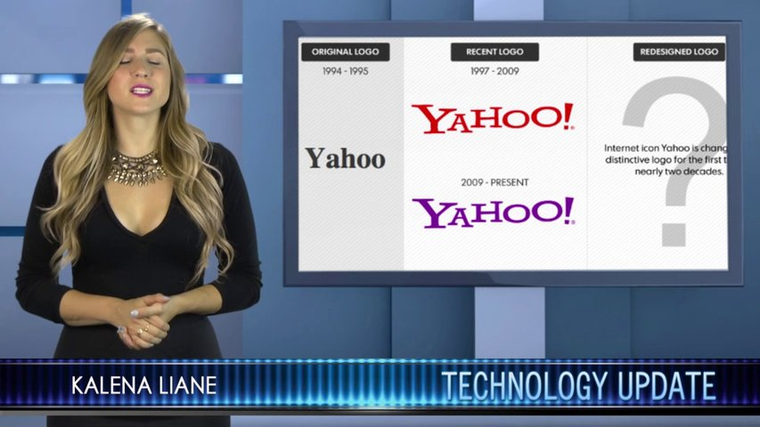 Yahoo is developing a new look for its classic logo and poaches Google employees!