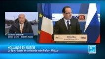 Hollande et Poutine à la recherche d'un réchauffement diplomatique
