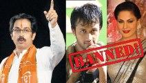 Shiv Sena To Ban Pakistani Actor & Actresses in India