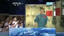 Un cours de sciences en direct de l'espace