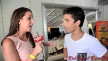 Aramis Knight at Red Carpet Events LA's 2013 #TeenChoice Gift Suite @AramisKnight88,