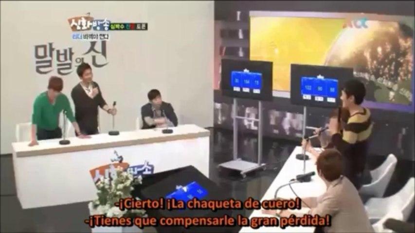 [cut] shinhwa broadcast - Tema en debate: cambiar de lider