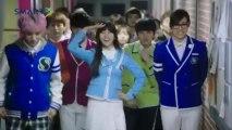 BTS X GFRIEND Family song MV smart school uniform - video