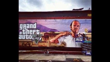 Trevor de GTA V - Fresque Murale à NYC