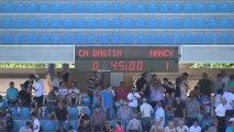 CA Bastia (CAB) - AS Nancy-Lorraine (ASNL) Le résumé du match (2ème journée) - 2013/2014