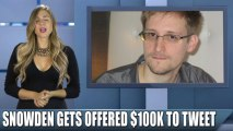 NSA whistleblower Edward Snowden has been offered yet another job plus leaked new information about NSA wiretapping!