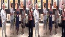 Vernissage de l'artiste peintre  Christina MANZONI