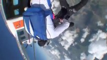 PARACHUTISME - CHAMPIONNATS DE FRANCE VICHY 2013 – Freefly « Air Axion Gap St-Galmier Saut5»- 9aout13.wmv