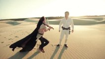 Awesome Star Wars Medley Cover by Lindsey Stirling & Peter Hollens!!
