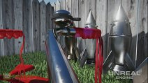 "Unreal Engine 4 | ""Layered Materials Demo"" [EN] (2013) | FULL HD"