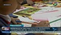 Inauguran centro recreativo para niños de la calle en Ecuador