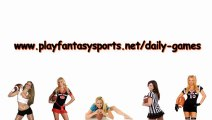 Best Daily Fantasy Football Team - Can you make the best Daily Fantasy Football team? How good are your drafting skills? Pick your Daily Fantasy Football team today!