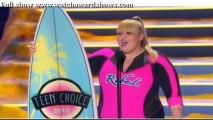 Teen Choice Awards 2013 Replay Rebel Wilson Acceptance speech Teen Choice Awards 2013