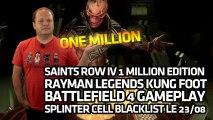 Saints Row IV. Rayman Legends Kung Foot. Battlefield 4. (GE#103-12/08/2013)