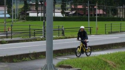 夏休みの自由研究 自転車厳美~水沢の旅