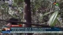 Grabación captura a tribu que vive aislada en el Amazonas