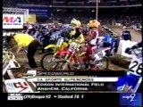 2000 AMA Supercross Anaheim 1 125cc and 250cc Main Events