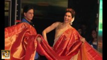 Shahrukh Khan promotes Chennai Express in SAREE: MUST WATCH