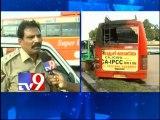 Bus burnt in Vijayawada, Samaikhyavadis deny involvement