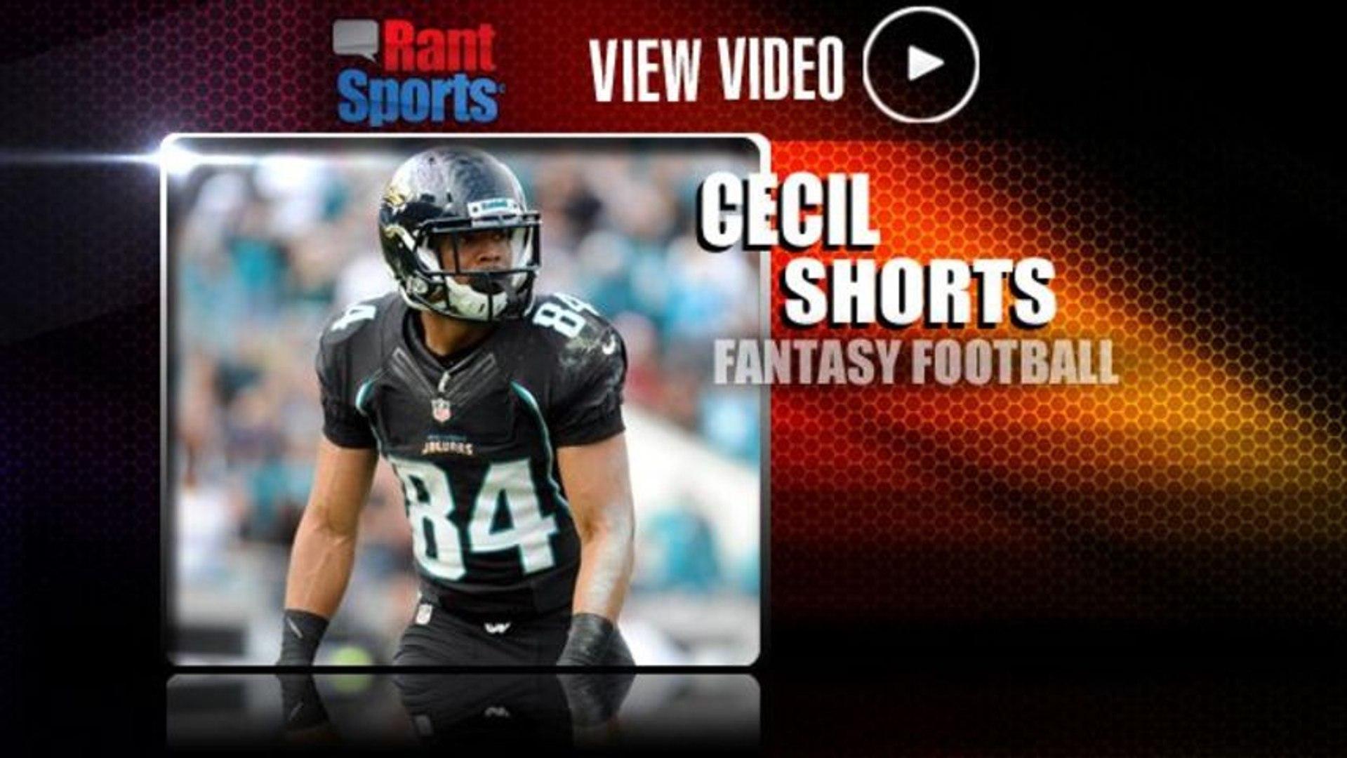 2013 Fantasy Football Profile: Cecil Shorts Remains Under the Radar