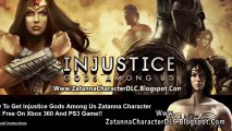 Injustice Gods Among Us Zatanna DLC Free on Xbox 360 And PS3
