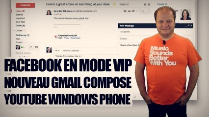 freshnews #492 Facebook VIP. Nouveau Gmail Compose. Youtube Windows Phone (14/08/13)