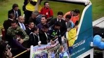 Révélation du Tour de France 2013, Quintana acclamé en Colombie