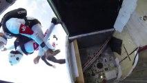 PARACHUTISME - CHAMPIONNATS DE FRANCE VICHY 2013 – Freefly «MilkBrothers Corbas Saut1»- 9aout13.wmv