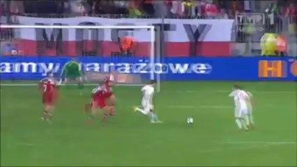 Все голы матча · Польша - Дания - 3:2