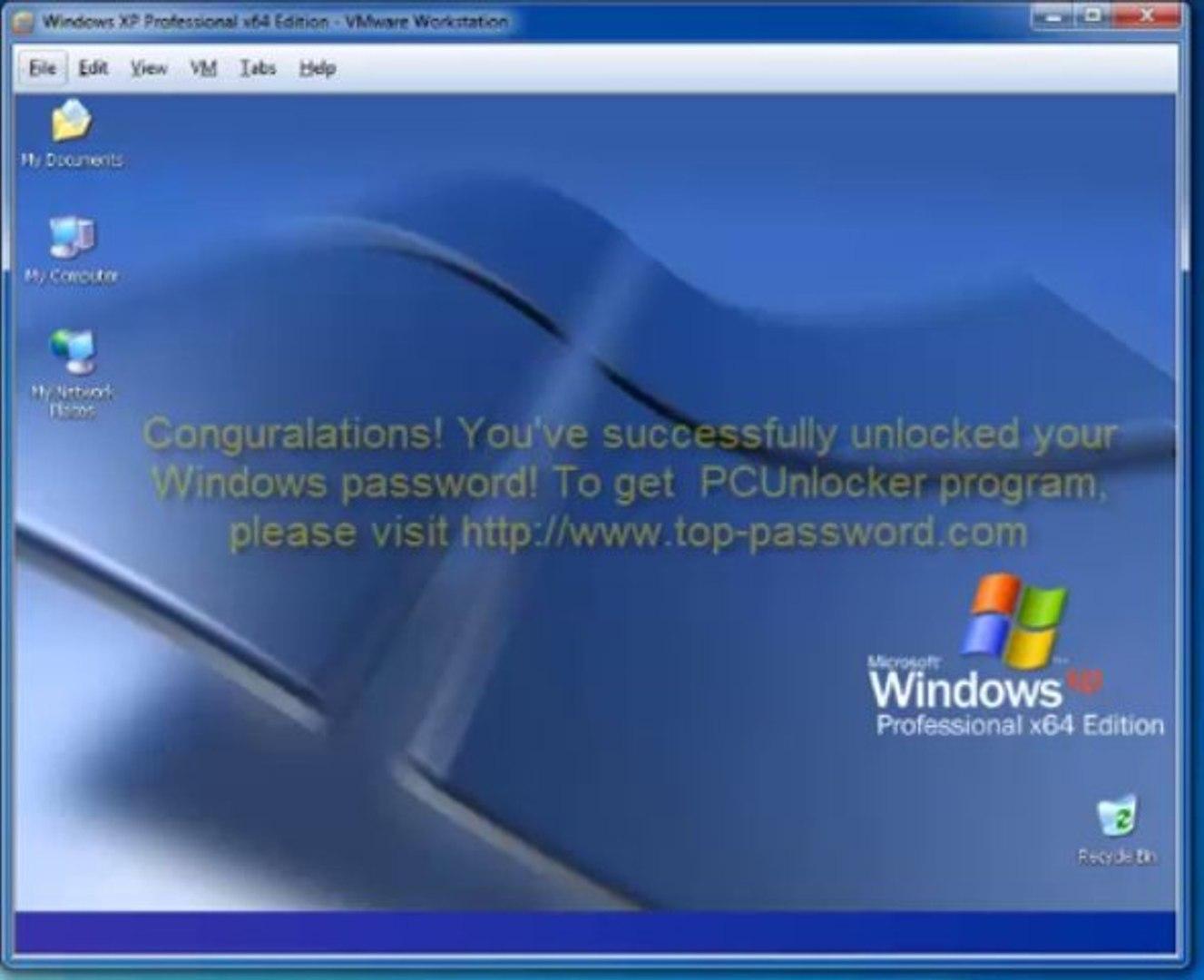 Reset Forgotten Windows Password of VMware Virtual Machine