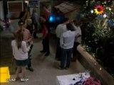 Alberto besó a Gaby en Farsantes