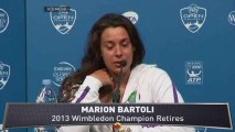Wimbledon Champ Marion Bartoli Retires