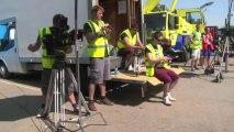Hollyoaks Behind the Scenes- Nancy Car Crash Stunt