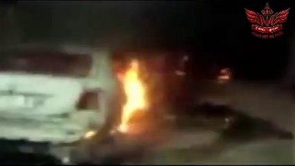 Les pro-Morsi brûlent L'église Sainte Thérèse à Assiut