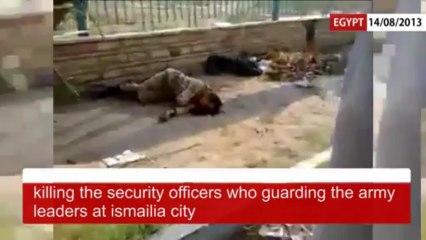 La vérité sur les violences du 14 Aout 2013 en Egypte #FreresMusulmans #Terroristes