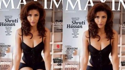 Sexy Shruti Haasan On Maxim Cover Page