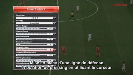 Defense de Pro Evolution Soccer 2013