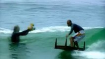 Kelly Slater Surfing with a table