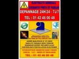 PARIS 7eme - 15eme - URGENCE ELECTRICITE - TEL: 0142460048 - DEPANNAGE 24H/24 7J/7 - ARTISAN ELECTRICIEN AGREE HAUTEMENT QUALIFIE