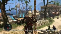 Assassins Creed IV : Black Flag - Gameplay Furtivité & Assassinat [FR]